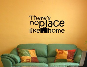 theres no place like home (with home)