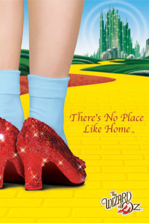 Follow the Yellow Brick Road to the Abandoned Land of Oz