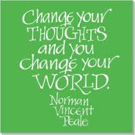 thoughts can change your world